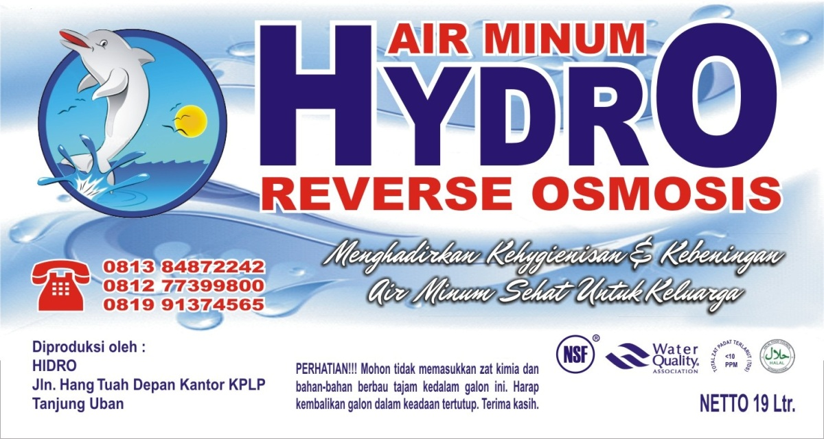 Air isi Ulang Hydro