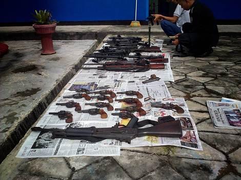 Senjata Api KPLP (dok.pribadi)