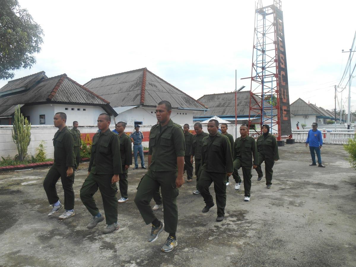 13 CPNS KPLP Tanjung Uban di Gembleng di Latihan Dasar