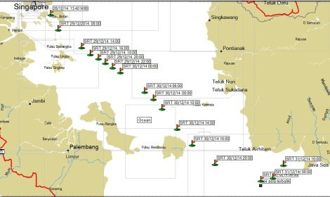 Tracking P112 (dokumen pribadi)